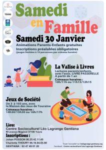 Samedi en famille @ Espace Gentiana | Tours | Centre-Val de Loire | France