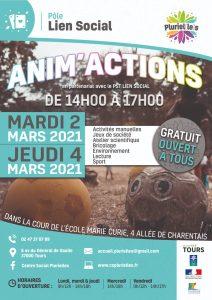 Anim'action au Sanitas @ Dans la cour de l'école maternelle Marie Curie TOURS | Tours | Centre-Val de Loire | France